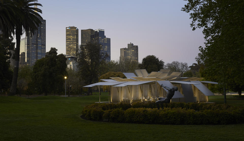 MPavilion 2014. Photo by Earl Carter.