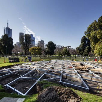 The making of MPavilion 2015