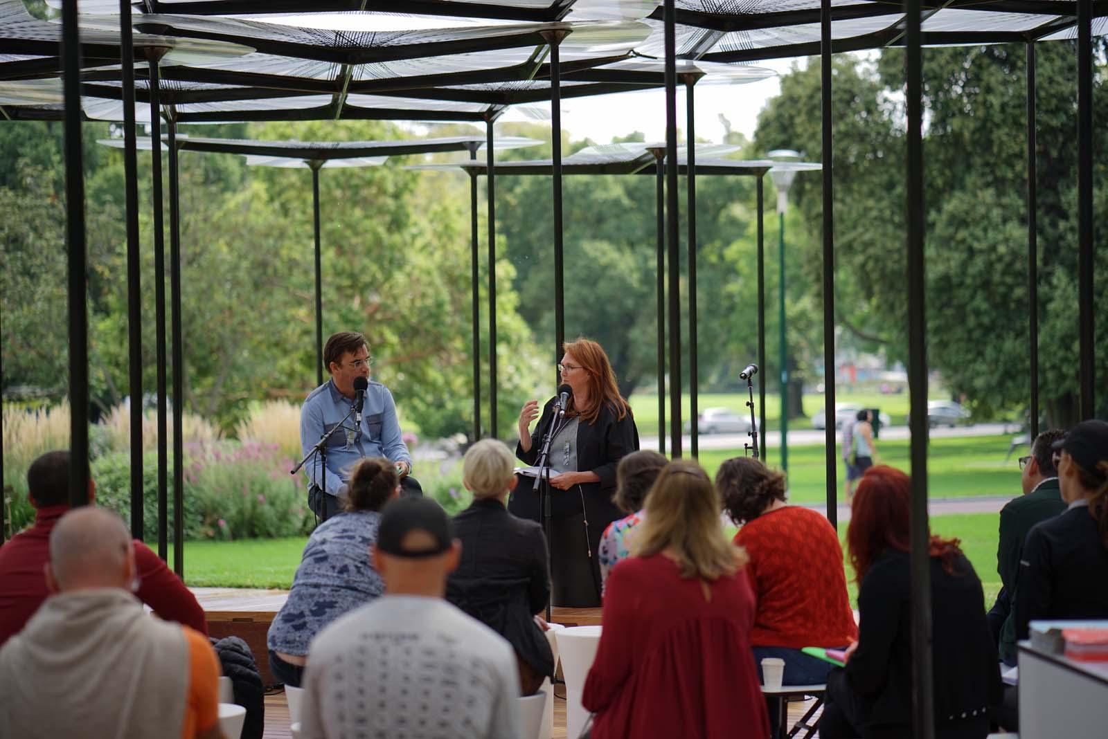 Simon Knott interviews Naomi Milgrom AO, MRelay Part 1: Habitat, January 2016