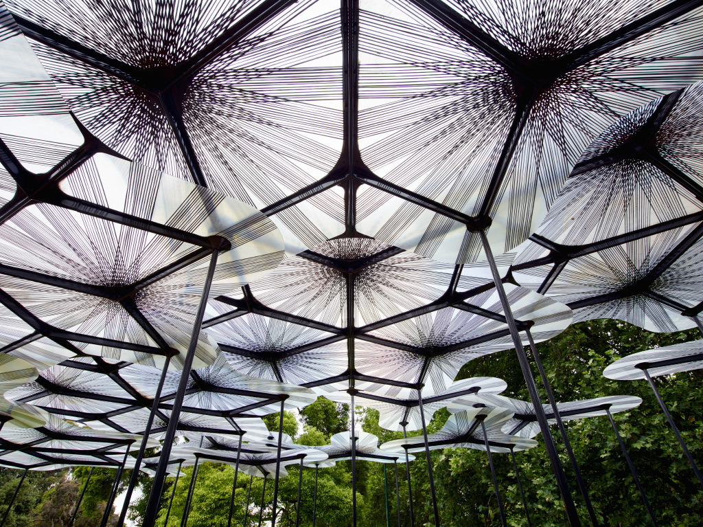 MPavilion 2015 designed by AL_A. Photo by Richard Powers.